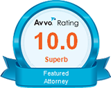 Avvo Rated 10 - Superb Featured Attorney
